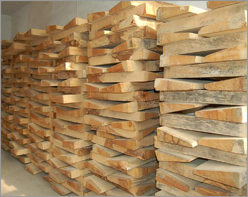 Part of our extensive wood supply