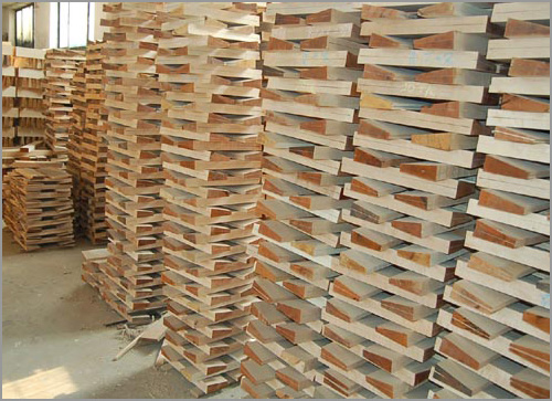 More seasoned wood ready for use