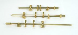 violin making tools - 327 - set of three crack clamps for violin/viola