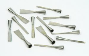 violin making tools - 331 - set of gouges (no handles)