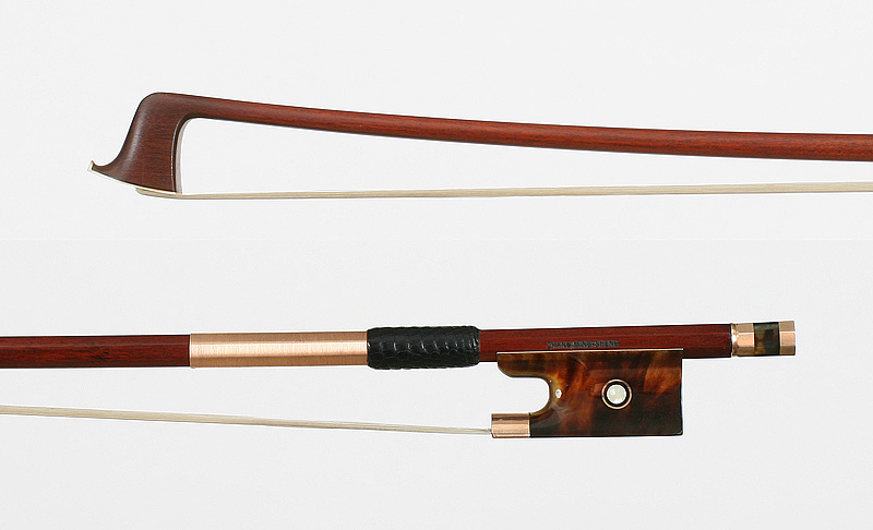 VLB006 - violin bow, gold and tortoiseshell