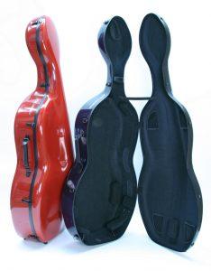 Musilia cello cases - MSS S1 and MCC S2